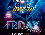 Friday Lock-In Poster